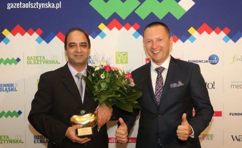 Dr. Rakesh Jalali, M.D., Ph.D. special distinction Big Heart Award
