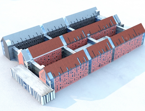 Visualization of a new hospital in Olsztyn